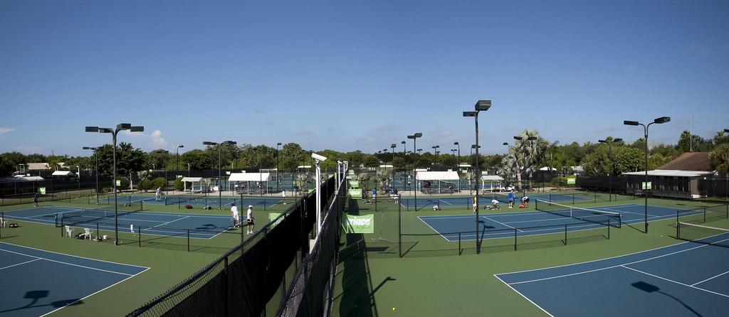尼克网校网球场